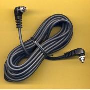 5m Male to Male SCREWLOCK pc Sync Sincro Lead Cord