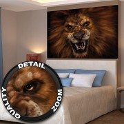 Roaring Lion Xxl Mural Call Of The Lion Poster 55 Inch X 39.4 Inch