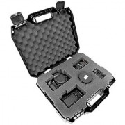 TOUGH-XL Hard-Body Travel and Storage Case Camera Gear Equipment and Lenses - Protects Nikon Digital SLR dSLR D3300 / D3200 / D750 / D7100 / D810 / D3100 / D5500 / D7200 / D7000 and more