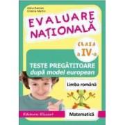 Evaluare nationala cls 4 - Arina Damian Cristina Martin