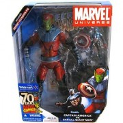Marvel Universe Captain America VS Skrull Giant Man Exclusive Action Figure Set