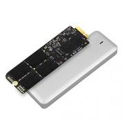"""Transcend TS240GJDM725 JetDrive 725 SSD per MacBook Pro Retina 15"""" M12-E13, 240 GB, SATA III, Kit con Case Esterno USB 3.0, Custodia e Cacciavite"""