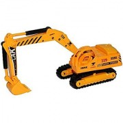 Happy Cherry Kids Metal Construction Vehicle Toy Alloy Truck Excavator Model