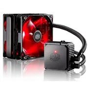 Cooler Master CPU radiatore acqua raffreddamento Kit Sistema con doppio 120 mm LED rosso silenzioso e intelligente PWM ventilatore a torre, Liquido Di Raffreddamento E 27 mm spessa per PC e di raffreddamento CPU - Seidon 120 V V3 Ventilatore a torre