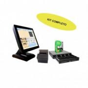 """Kit TPV Tactil KT-700 15"""" W8.1 + Itactil + Cajon - Inside-Pc"""