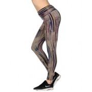 WEARGRACE SPIRAL LEGGING PRINT - TROUSERS - Leggings - on YOOX.com