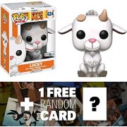 "Lucky (Toys ""R"" Us Exclusive): Funko POP! Movies x Despicable Me 3 Vinyl Figure + 1 FREE CG Animation Themed Trading Card Bundle (13590)"