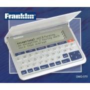 Franklin Collins English Dictionary Diccionario electrónico con tesauro en inglés, blanco