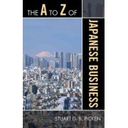 The A to Z of Japanese Business by Stuart D. B. Picken