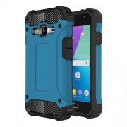 For Samsung Galaxy J1 Mini Prime Armor TPU + PC Combination Case (Blue)
