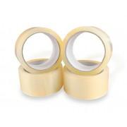 Ragasztószalag HOT-MELT Átlátszó 48mm x 66 m 6 tekercs/csomag
