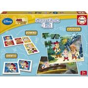 Juegos educativos Educa - Jake y los piratas de Nunca Jamás superpack de juegos (16031)