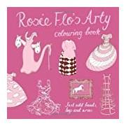 Rosie Flo's Arty Colouring Book