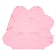 Wallaboo - Одеалце олекотен памук розово