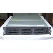 Server Fujitsu Siemens Primergy P250 PP200-D1309 K854-V101-754, procesor Intel Xeon 1800 MHz, 400 MHz FSB, memorii 2GB pc2100, HDD 2 x 36GB, SCSI, DVD-RW