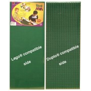Nilo Lego baseplate Duplo baseplate. Two Sided. 12 x 32 each & 24 x 32 total area. Made in U.S.A. by Nilo?