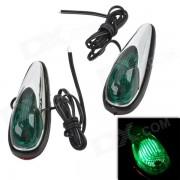 Dégagement MR16 0.06W 5LM Green Light lampe de voiture Side - Green (12V / 2 PCS)
