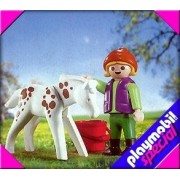Playmobil 4571 Appaloosa Foal with Child