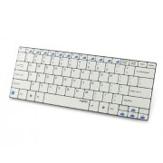 Rapoo E6100 Ultra-Slim Mini Bluetooth Keyboard (White)