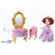 Mattel Y6790 Sofia The First - Sofia And Royal Vanity Playset
