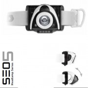 Lanterna Cap Led Lenser Seo5 Gri 180lm 3xAAA
