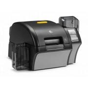 Imprimanta de carduri Zebra ZXP9, dual-side, MSR, smart, RFID