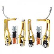 AEST YVB76A-01 juego de frenos de repuesto V para MTB mountain bike - dorado