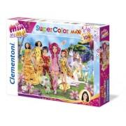 Clementoni 23660 - Mia And Me - Maxi puzzle 104 pezzi