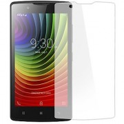FIRST MART Lenovo A2010 Tempered Glass Screen Protector (Transperent)