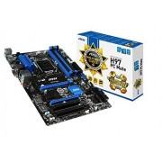 MSI H97 PC Mate ATX 1150 Scheda Madre, Nero/Antracite