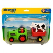 PLAYMOBIL 1.2.3 Farmer with Tractor