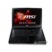 Laptop MSI GP62 2QE 050XHU, negru