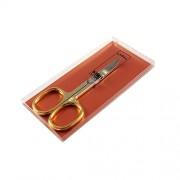 Nożyczki ZŁOCONE do manicure - do paznokci (grubsze), SOLINGEN-KIEHL