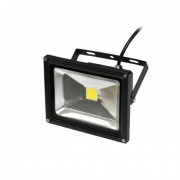 Fényvető / reflektor LED 20W, IP65, fekete, 3000K-warm white