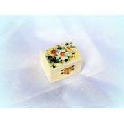 Cutiuta din lemn - model floral - 0561