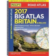 Philip's Big Road Atlas Britain and Ireland 2017