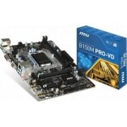 Placa de baza MSI B150M PRO-VD Socket 1151 Bonus Aer comprimat 4World 400
