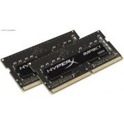 Kingston HyperX Impact Black 32Gb(16Gb x2) DDR4-2400 (pc4-19200) CL14 1.2V Notebook Memory Module