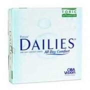 Focus Dailies Toric Aqua Release Contact Lenses (90 lenses/package- 1 box)