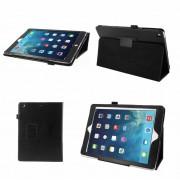 Apple iPad Air (iPad 5) - Leather Book Cover Flip Hoes voor bescherming voor- en achterkant - Kleur Zwart