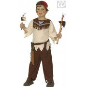 Déguisement sioux Garçon 116cm, 4-6 ans