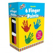 Galt Toys 6 Finger Paints Washable [importato da UK]