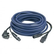 DAP Audio FP08 Cable de alimentación/señal 10m schuko-IEC / XLR-XLR, AUDIO
