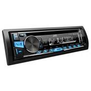 JVC KD-R862BTE Equipo de radio para automóvil (USB, CD, Bluetooth, incluye A2DP), color negro