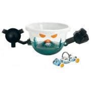 Mattel Y0057 Hot Wheels Ballistics - Charlie Bravo 6.1, drone con luci e suoni, 1 automobilina inclusa