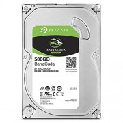 "Seagate 500GB Barracuda SATA 6Gb/s 16MB Cache 3.5"" Internal Bare Drive (ST500DM009)"