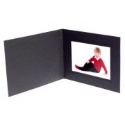 8x6 / 6x8 Black Karnival Photo Folder - Landscape