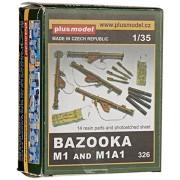 Plus modello 326 - Bazooka M1 e M1A1