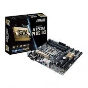 Asus B150M-PLUS-Scheda madre Intel B150, D3, S 1151, DDR3, DDR3L, SATA3 6GBps)