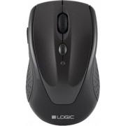 Mouse Wireless Logic LM-22, 1600 DPI (Negru)
